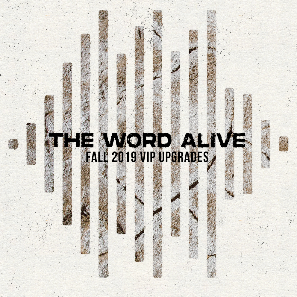 The Word Alive Fall 2019 VIP