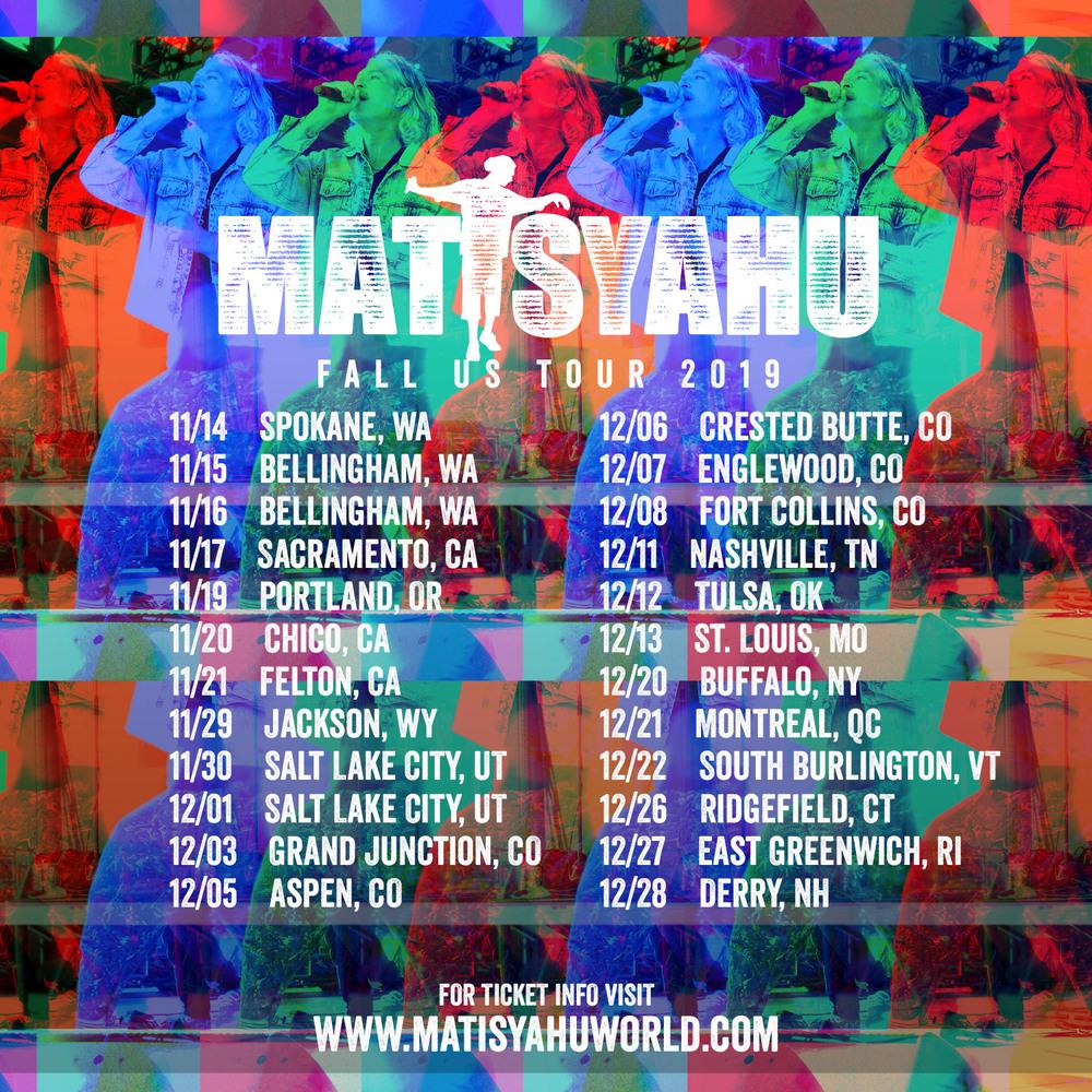 Fall Tour 2019