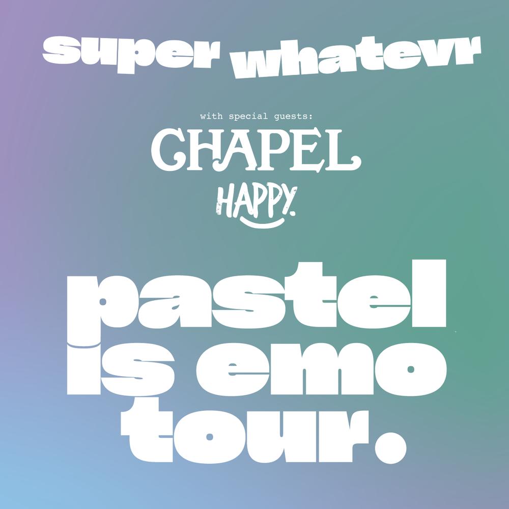 pastel is emo tour.