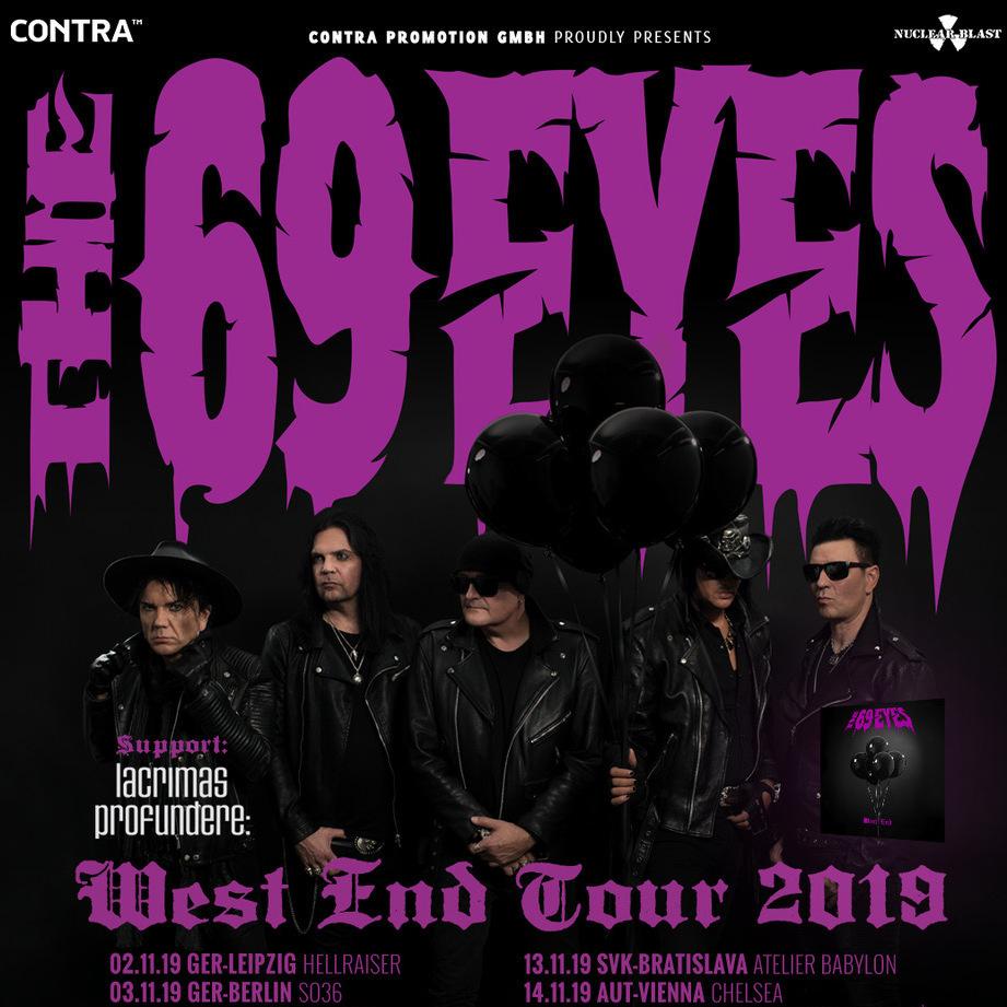 WEST END EUROPEAN TOUR 2019