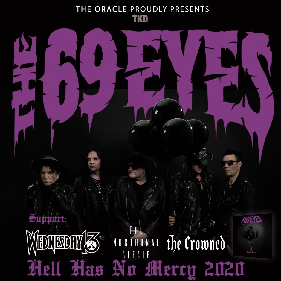 HELL HAS NO MERCY US TOUR 2020